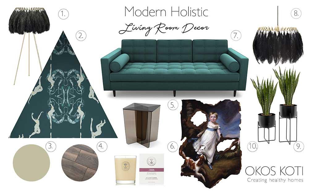 Inspiring Holistic Living Room Ideas